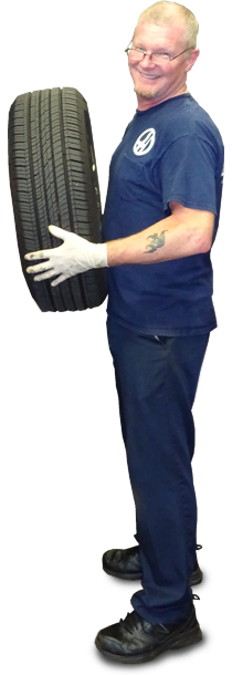 a Hollenshade's ASE-certified technician