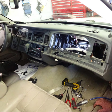 HVAC Car Interior
