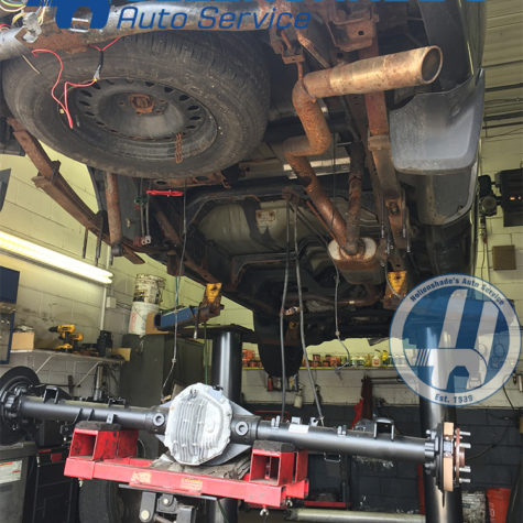 rear axle and differential housing replacement nissan titan pickup