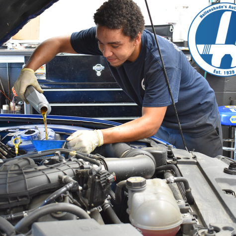 Oil Change in Towson by Hollenshades Auto Service