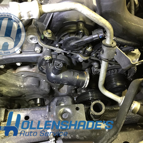 Water Pump replacement failed bearing chrysler