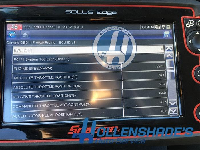Honda P3400 & P3497 Engine Light Repair | Hollenshade's Auto