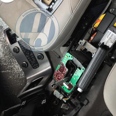 Gear Shift Assembly Interior
