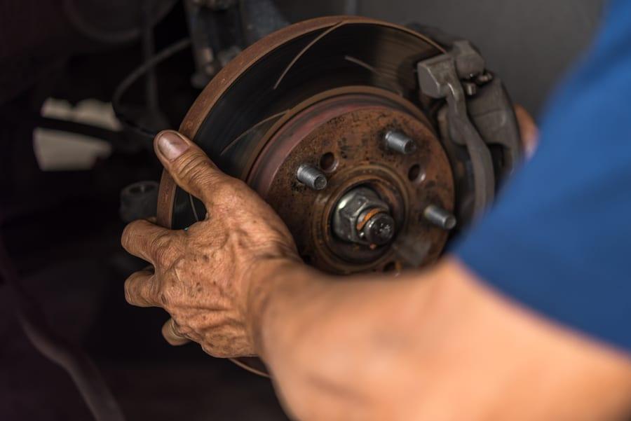 hanging brake caliper hollenshades