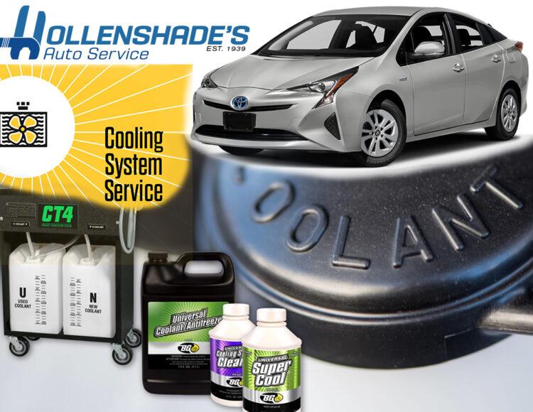 Antifreeze fluid service